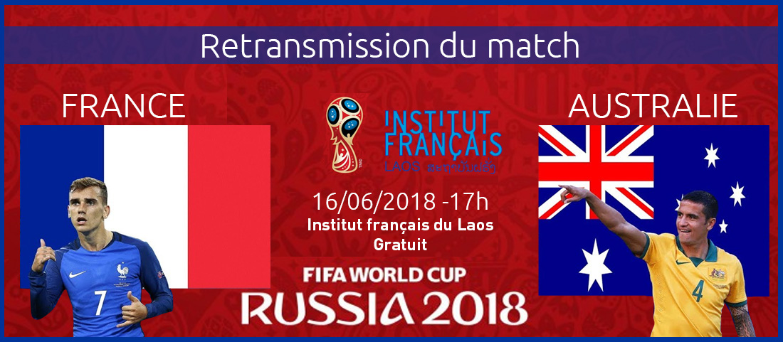 Football : Retransmission du match France-Australie à l'IFL