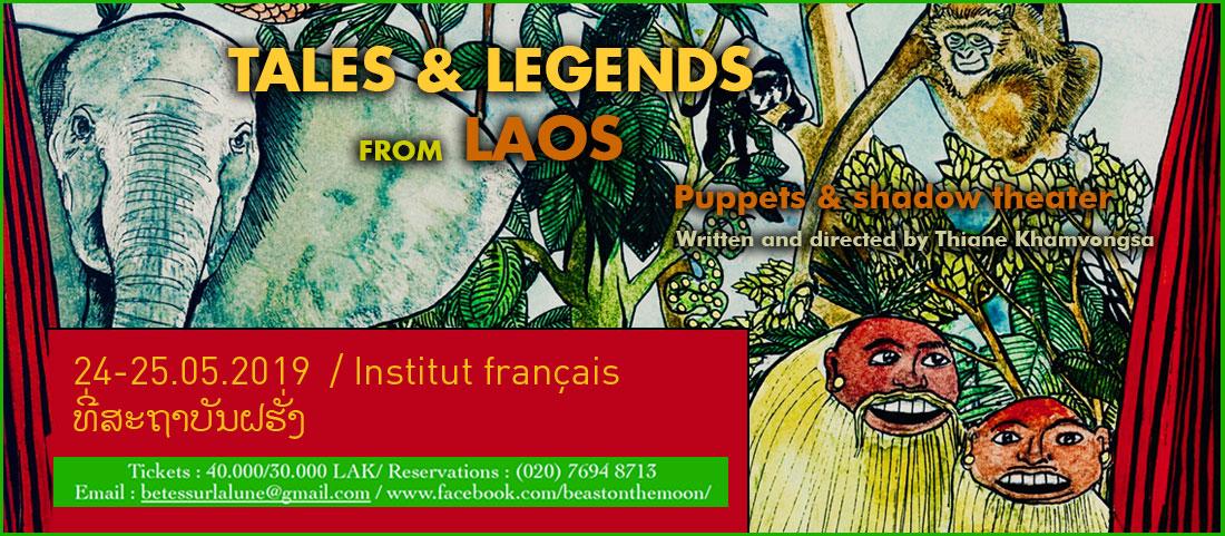 Contes et légendes du Laos