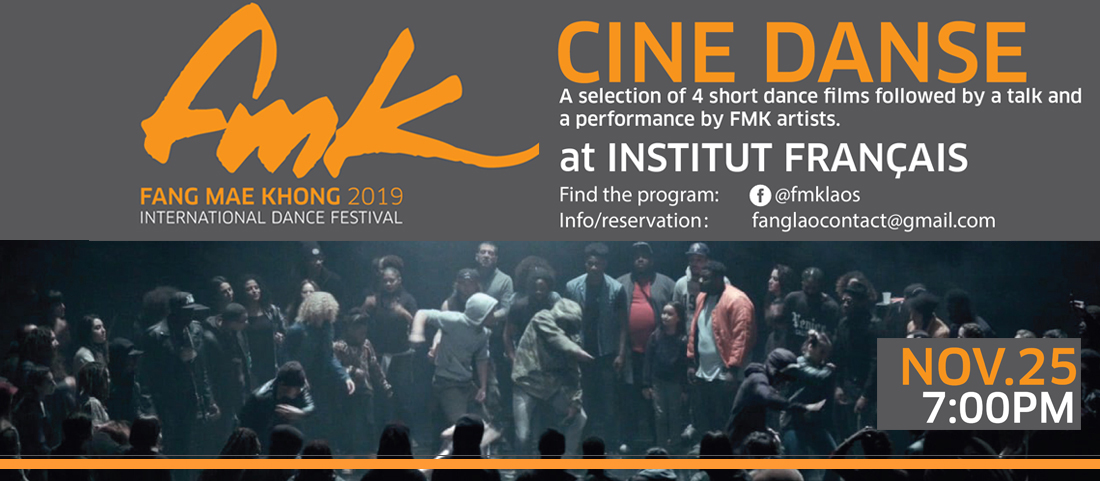 Festival international de danse FMK 2019 : Cinédanse
