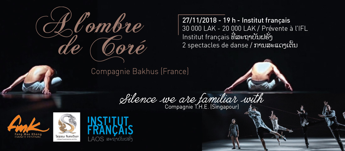 Festival international de danse FMK 2018 : deux spectacles à l'Institut français