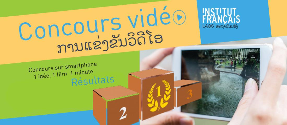 Résultats concours 1 idée, 1 film, 1 minute