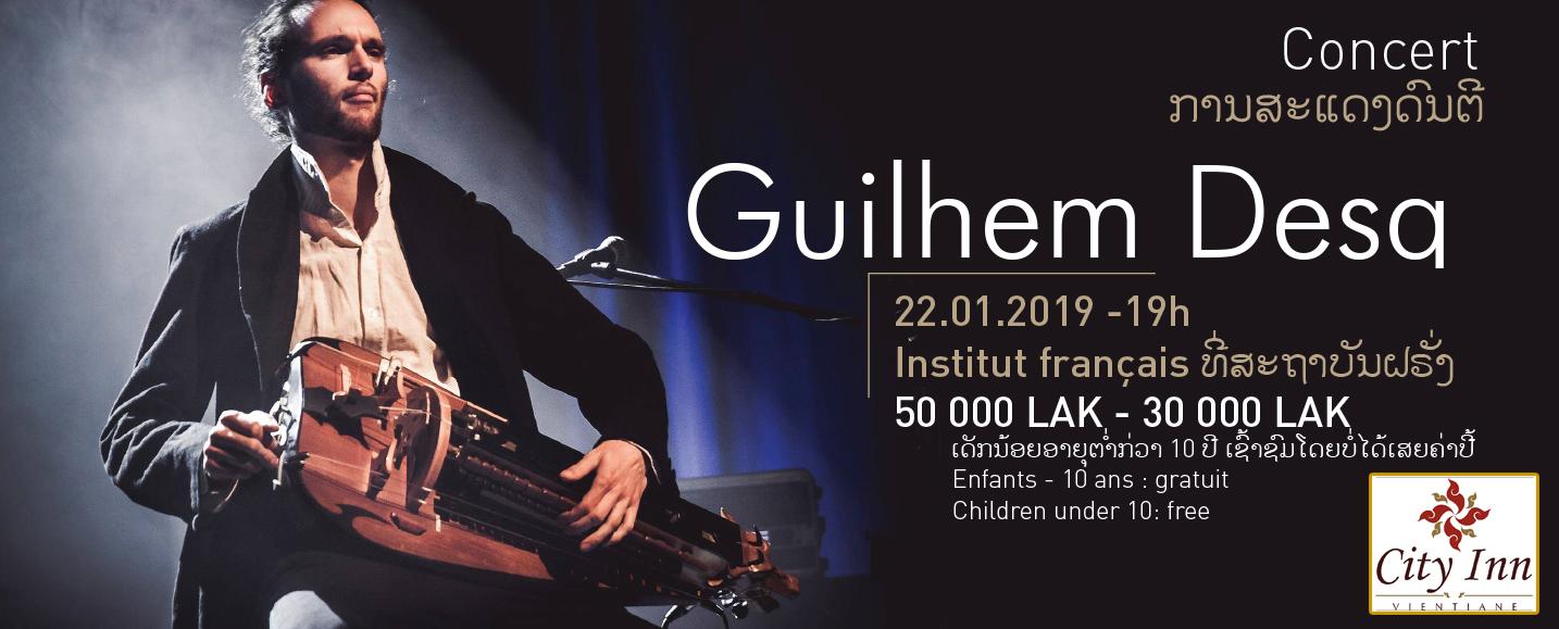 Concert : Guilhem Desq