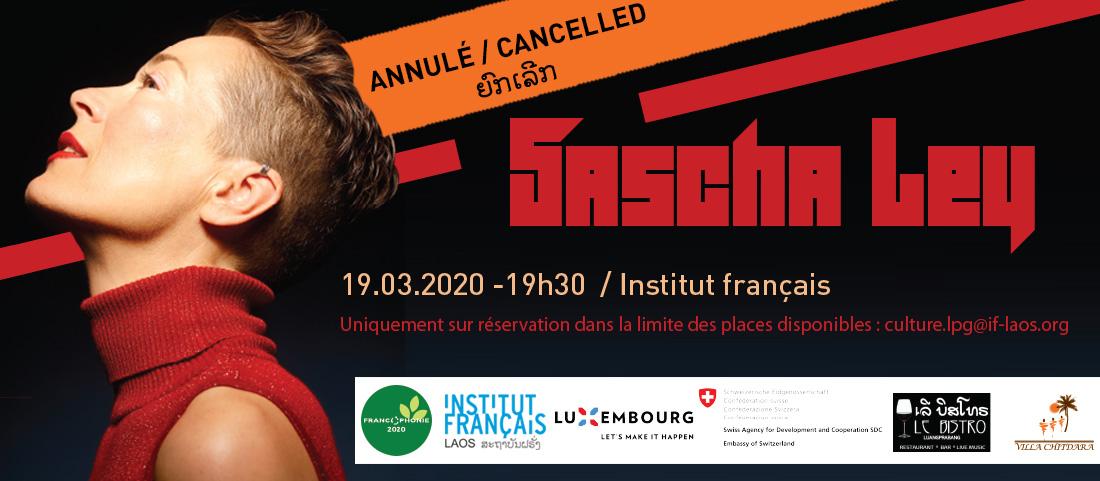 Concert Sascha Ley - annulé