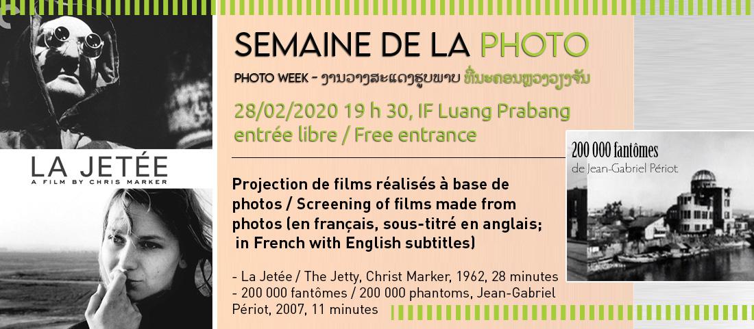 Projection de films - Semaine de la photo