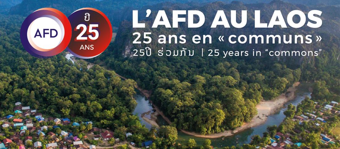 Conférence: l'AFD au Laos, 25 ans en «communs»