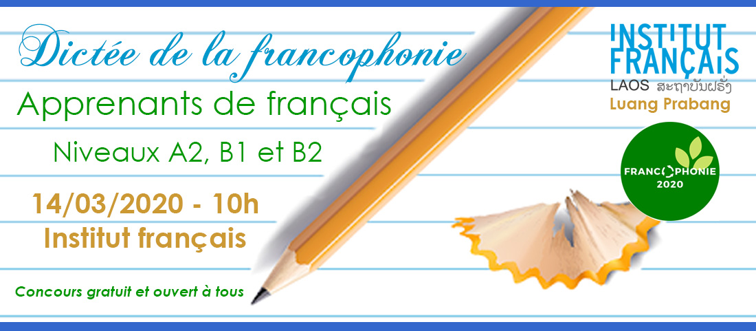 Luang Prabang : Dictée de la francophonie