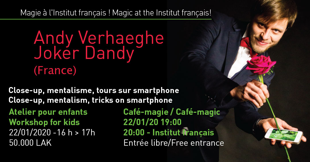 ANDY VERHAEGHE, MAGICIEN