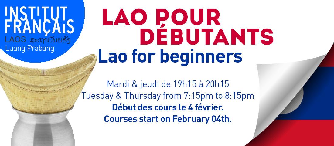 Luang Prabang : Cours de lao pour débutants