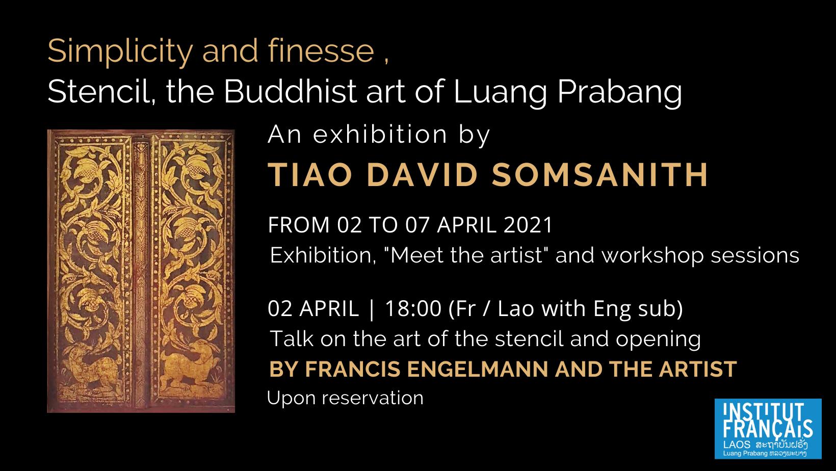 Expositions « Simplicité et raffinement. Le pochoir, art bouddhiste de Luang Prabang »