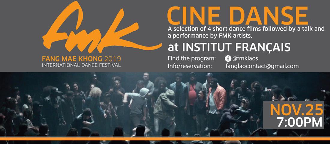 Festival international de danse FMK 2019 : Cinédanse