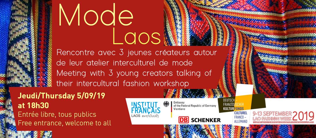 Mode Laos, rencontre