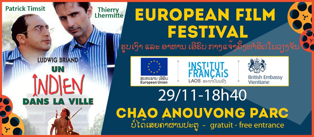 Festival du Film Européen : Un indien dans la ville