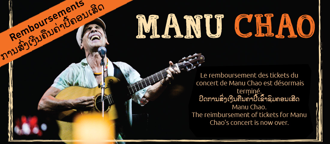The reimbursement of tickets for Manu Chao's concert is now over.
