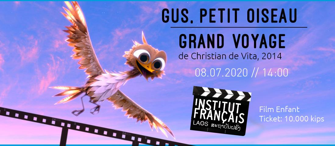 CINEMA // Gus, petit oiseau grand voyage