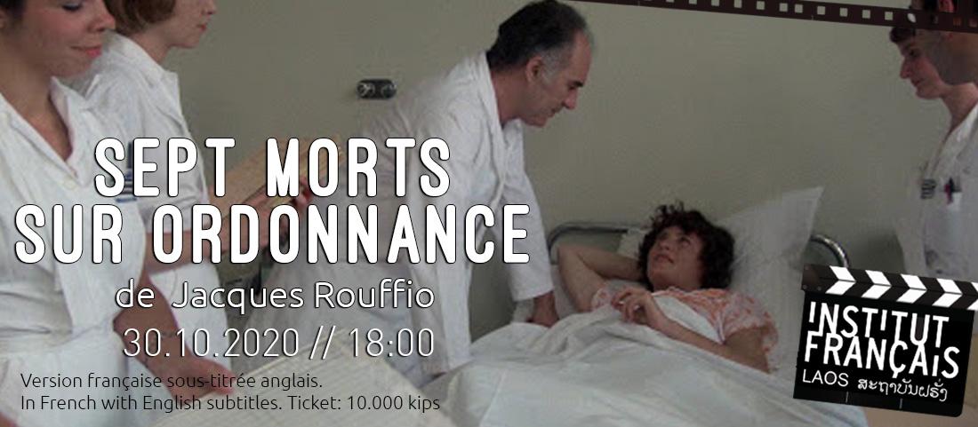 CINEMA //  Hommage à Michel Piccoli, Sept morts sur ordonnance