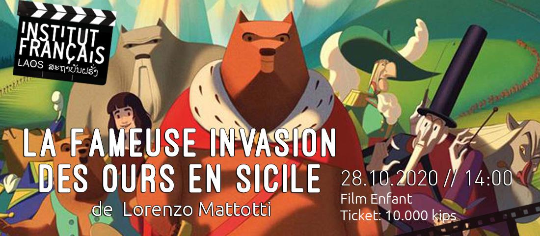 CINEMA // La Fameuse invasion des ours en Sicile