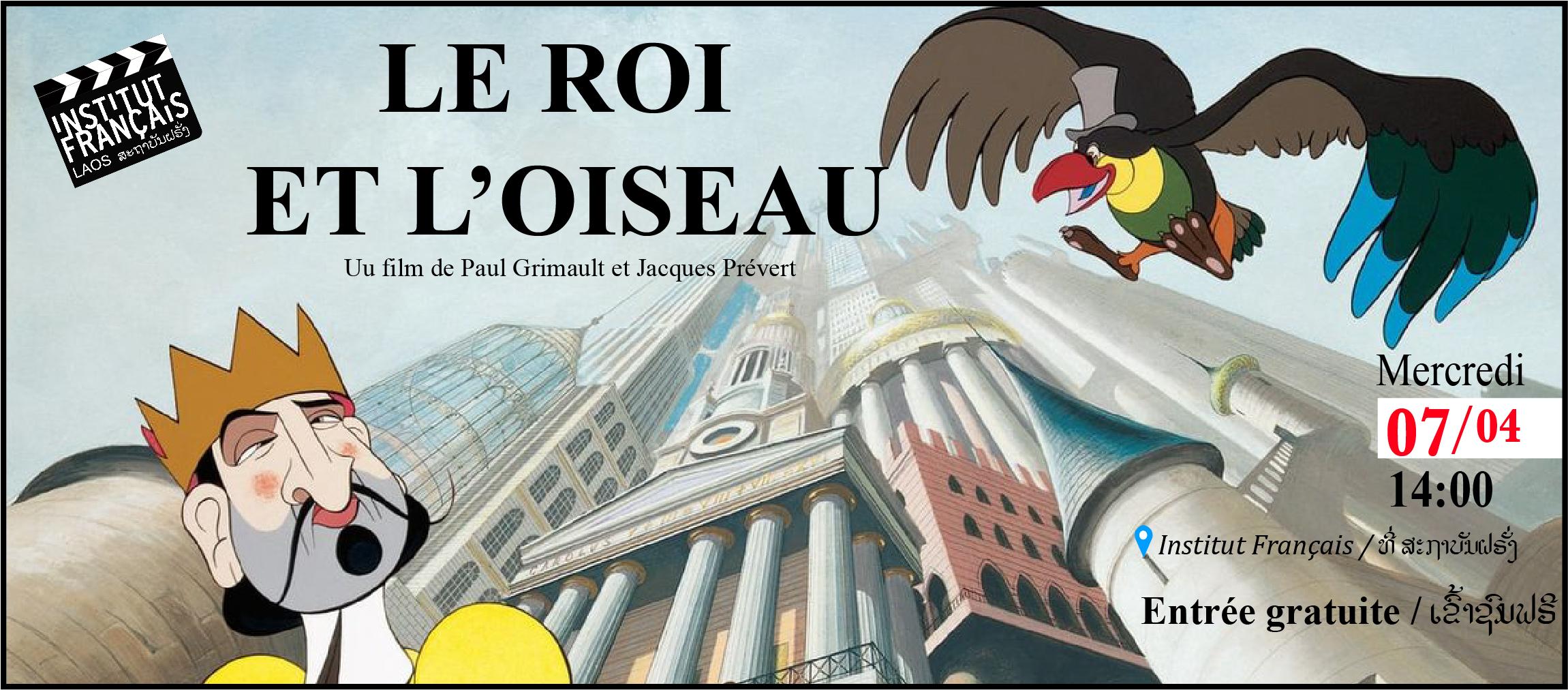 FILM ENFANTS // LE ROI ET L'OISEAU