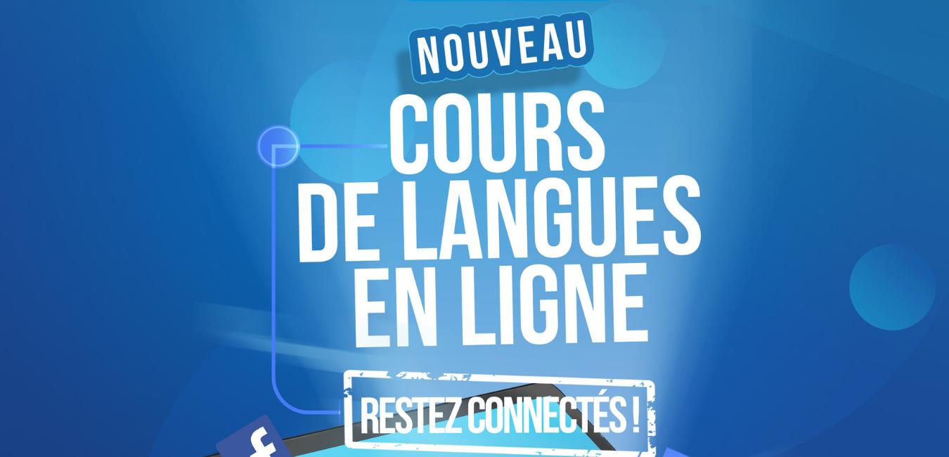 Cours de langues en ligne !