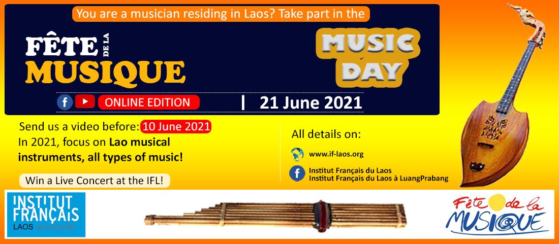 Fête de la Musique 2021 - Edition en ligne