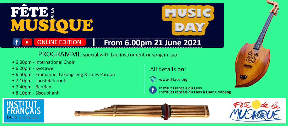La Fête de la Musique au Laos en 2021